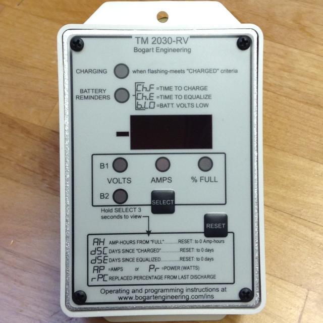 Trimetric Battery System Bogart Engineering